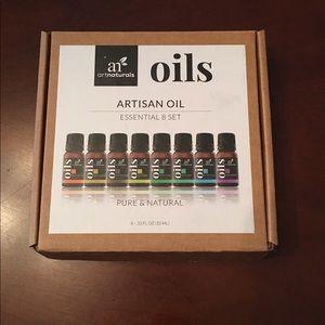 Aromatherapy oils - set of 8